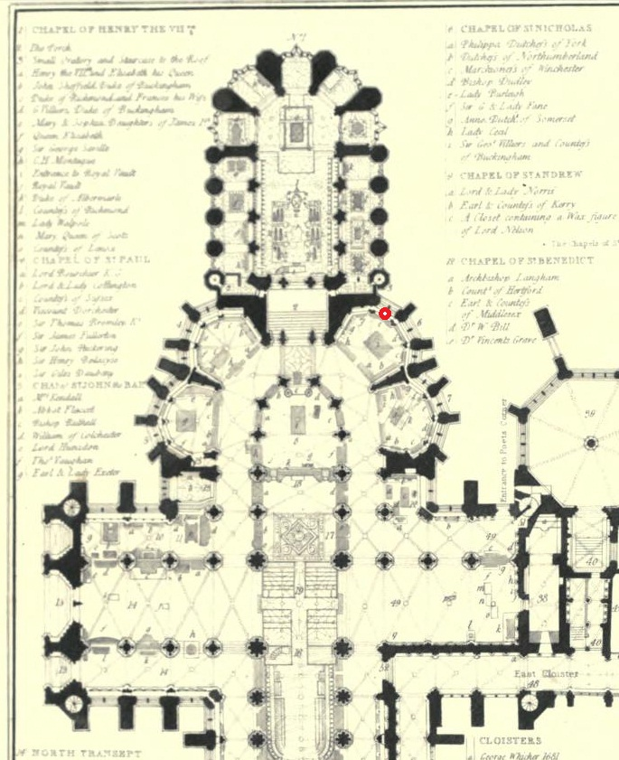 Burials and memorials in Westminster Abbey  Wikipedia