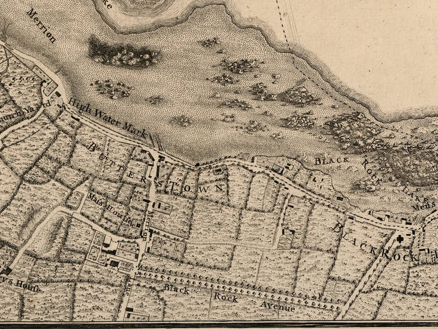 Booterstown CoDublin - Old maps of dublin