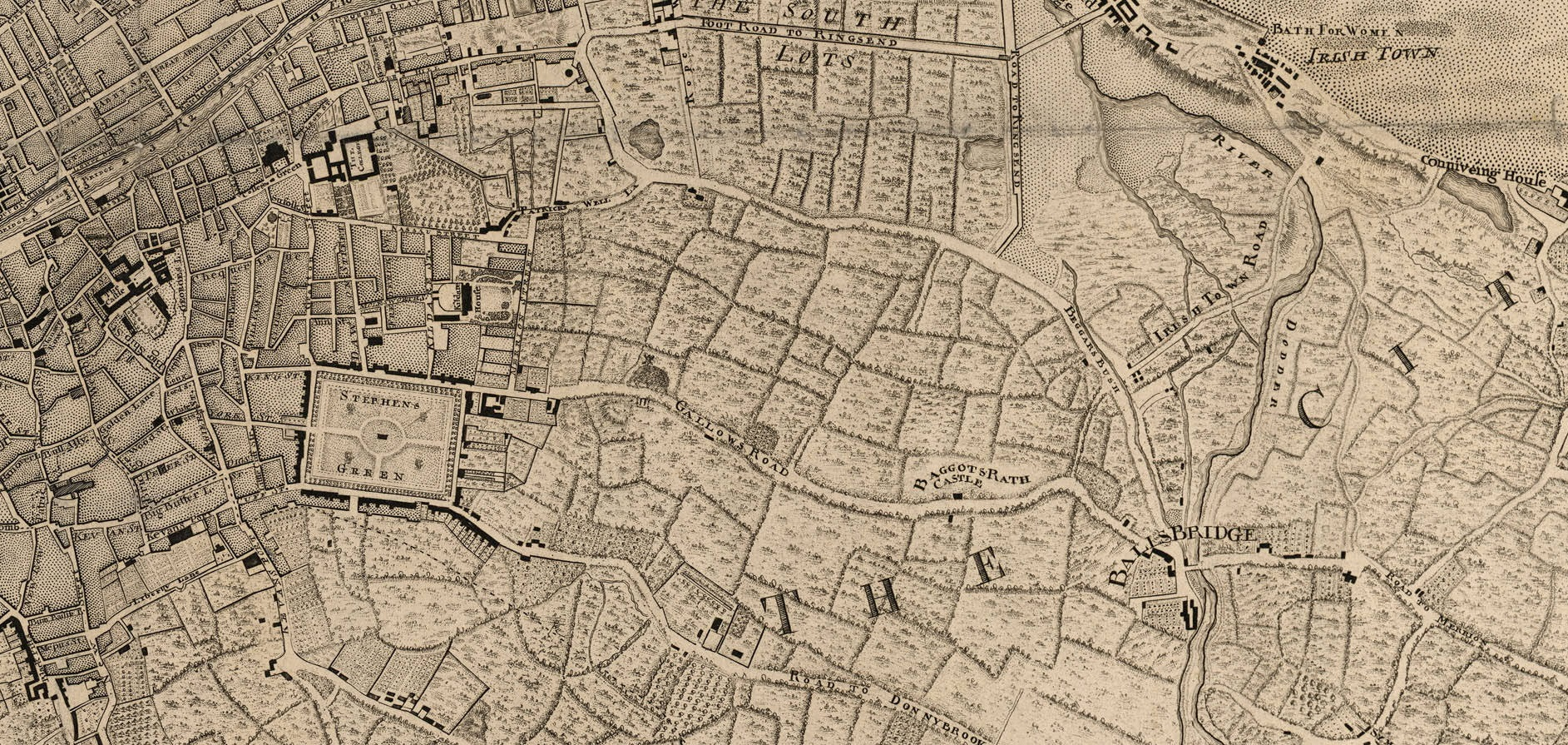 The Pembroke Estate Of Dublin City - Old maps of dublin