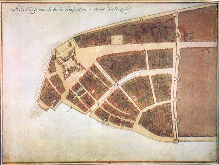 New York City in 1790   Ephemeral New York