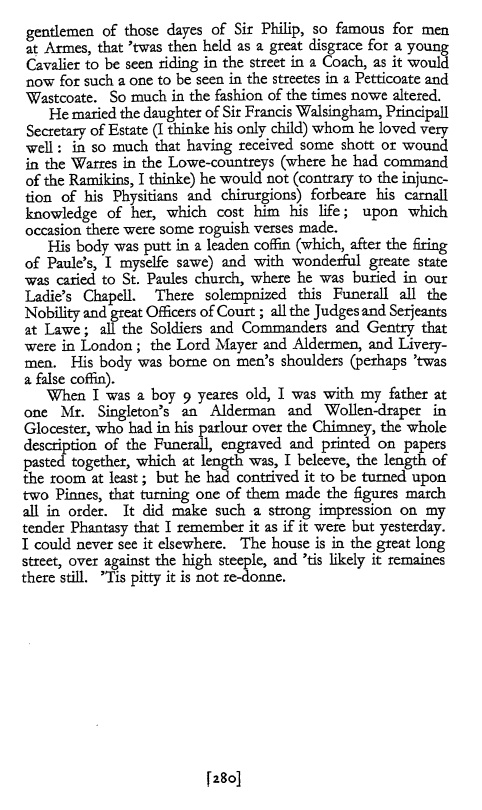 philip sydney as a critic