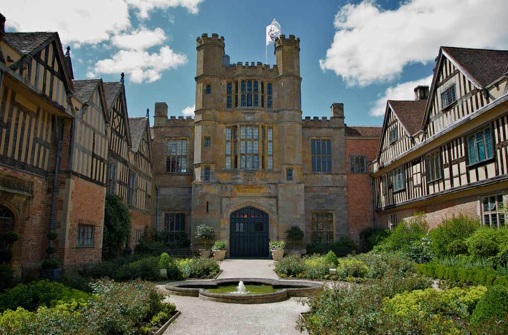 Coughton Court The E Side The Back